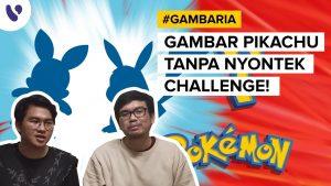 gambaria challenge gambar vektor pikachu featured